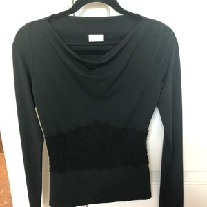 Black Valentino top